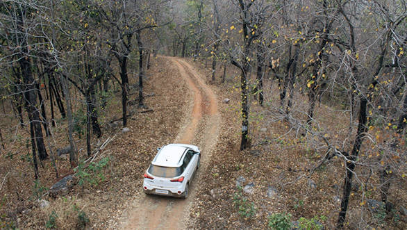 Jungle Safari with the Hyundai i20 Active, in the Barnawapara Wildlife Sanctuary