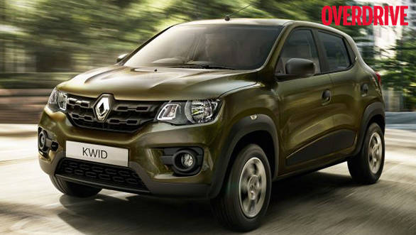 The 800cc version of Renault Kwid shown for representation purpose only