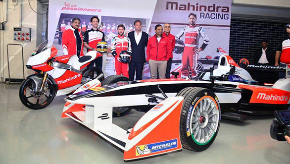 Mahindra Racing previews 2016 M2Electro racecar and MGP30 motorcycle at BIC
