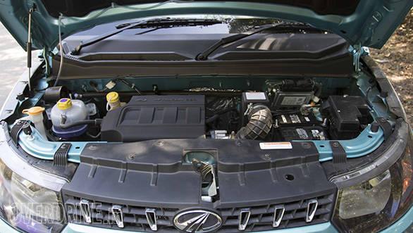 Mahindra KUV 100 G80 Petrol Enigne