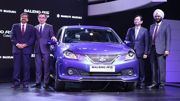 2016 Auto Expo: Maruti Baleno RS concept with 1.0-litre Boosterjet unveiled
