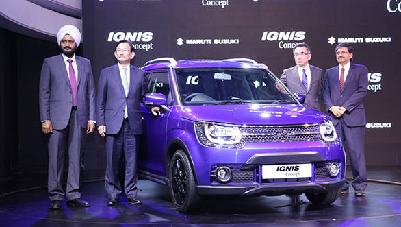 2016 Auto Expo: Maruti Ignis compact SUV concept unveiled