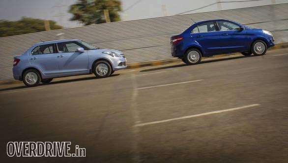 Comparo: Maruti Suzuki Dzire diesel AGS vs Tata Zest diesel F-Tronic