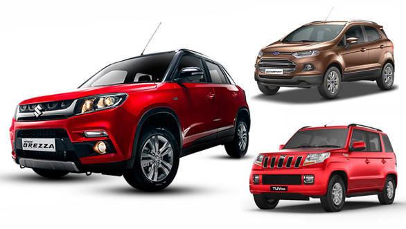 Features comparison: Maruti Suzuki Vitara Brezza vs Ford EcoSport vs Mahindra TUV300