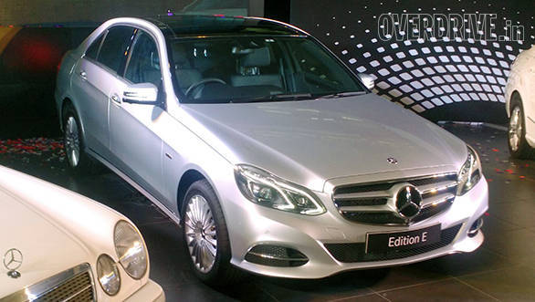 Mercedes-Benz E-Class Edition E launched in India at Rs 48.60 lakh