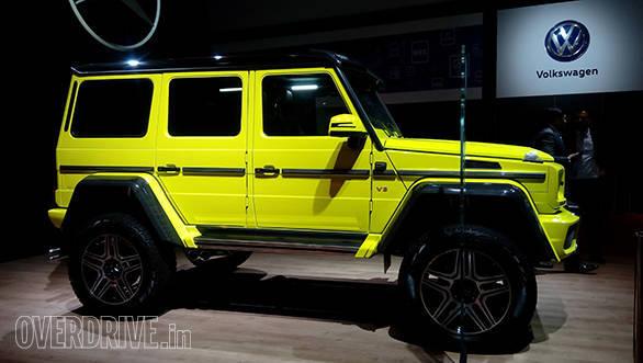 Mercedes-Benz G500 4 x 4 (2)
