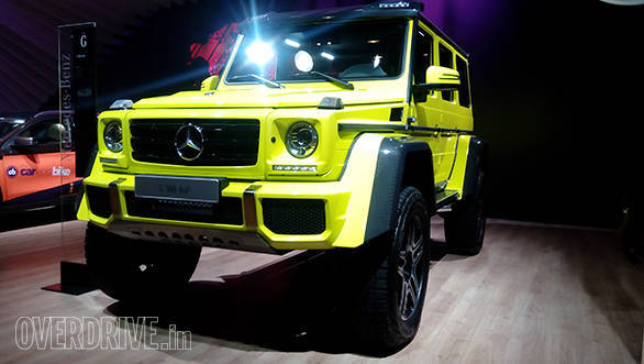Mercedes-Benz G500 4 x 4 (5)