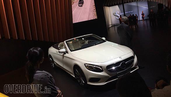 2016 Auto Expo: Mercedes-Benz unveils S500 Cabriolet