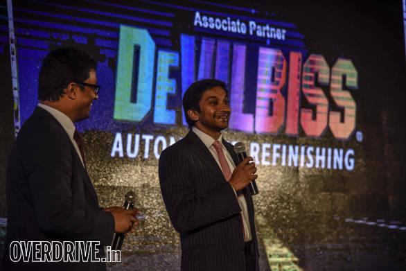 Narain Karthikeyan, Formula1 dirver at ADEA