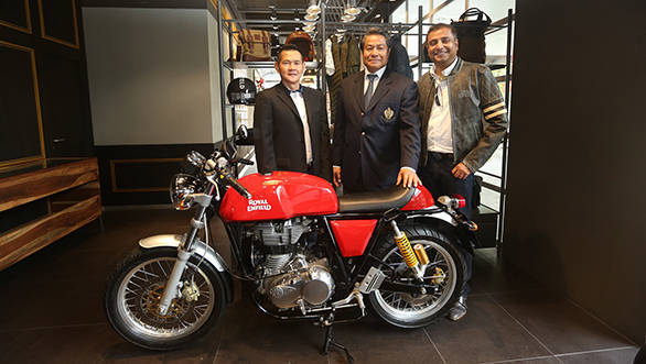 Royal Enfield sets up shop in Bangkok, Thailand