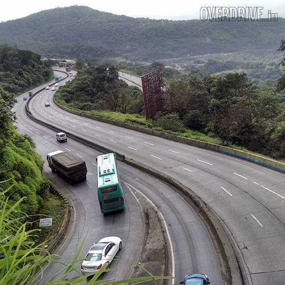 A six lane highway that offers scenic views, flat out stretches and an exciting ghat section