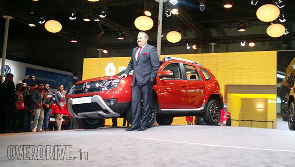 2016 Auto Expo: New Renault Duster Easy-R AMT unveiled