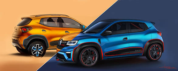 Renault KWID Climber & Racer ext  together