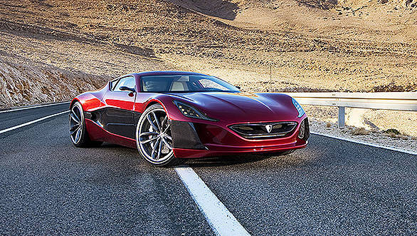 Rimac unveils the world's fastest production electric car