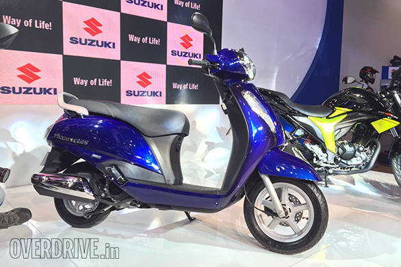 The engine in the new Suzuki Access 125 now makes more power and torque at 8.7PS and 10.2Nm, respectively