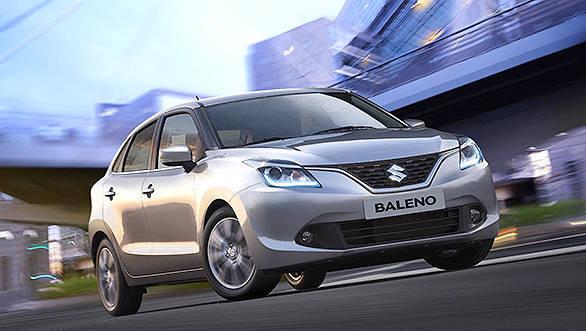 Suzuki Baleno at Geneva Motor Show