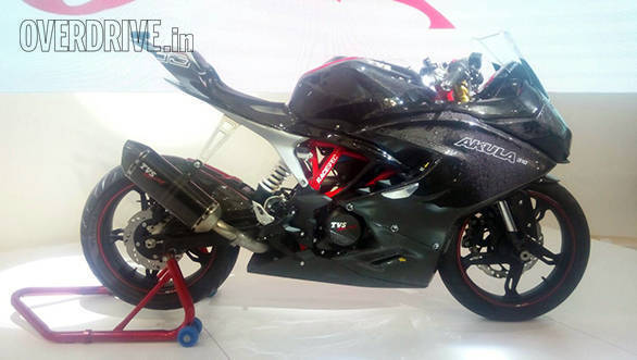 Confirmed: TVS Apache RR 310, aka Akula 310 launch set for December 6, 2017