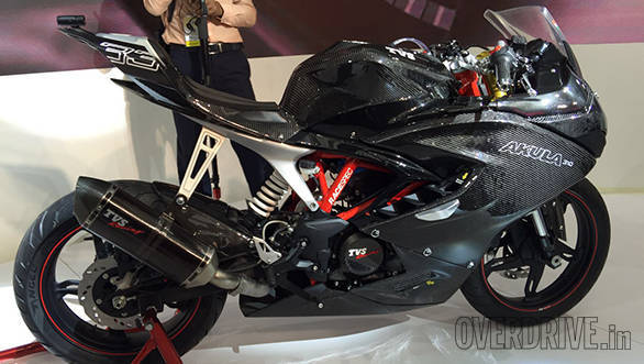 TVS considered making Akula 310s with carbon fibre fairing on popular demand