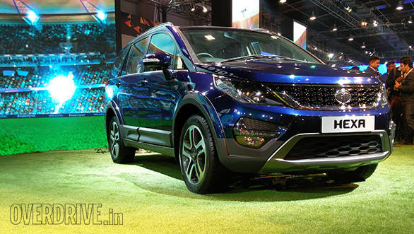 2016 Auto Expo: Tata displays near production ready Hexa MPV