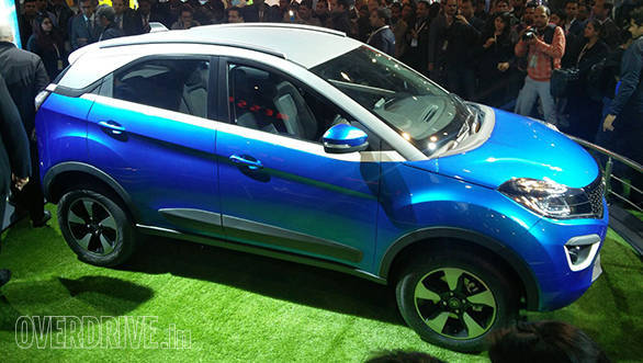 2016 Auto Expo: Near production ready Tata Nexon SUV showcased