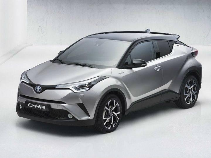 Toyota-C-HR SUV front