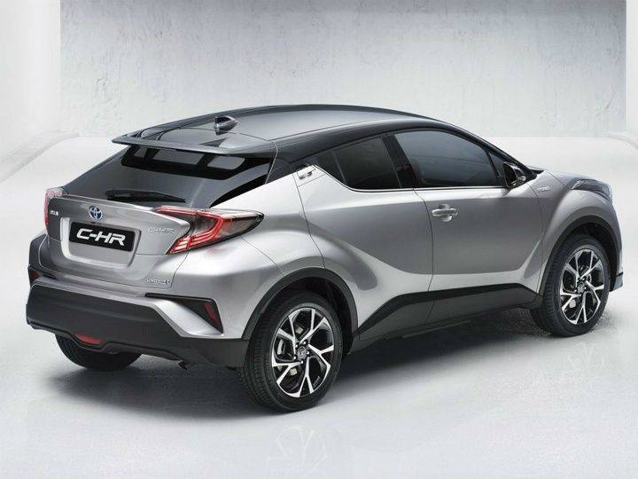 Toyota-C-HR SUV rear