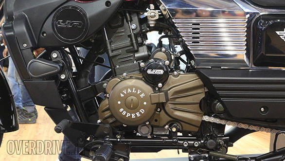 The motorcycle is powered by a water cooled single cylinder engine that displaces 279cc - this is common to all three UM motorcycles launched today. Power stands at 25PS at 8,500rpm while peak torque of 21.8Nm is produced at 7,000rpm. Fuel supply is by carburettor.