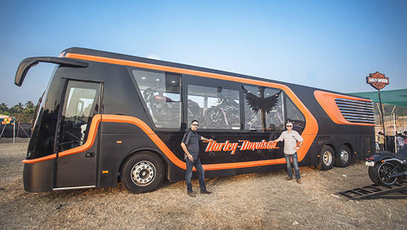 Harley-Davidson India launches its first mobile motorcycle dealership