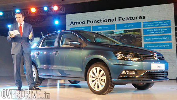 2016 Auto Expo: Volkswagen Ameo sub-4m sedan for India revealed