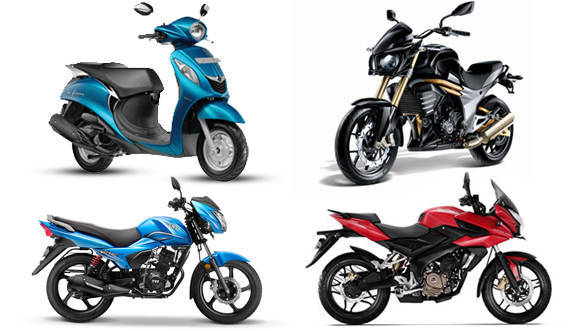 Two-wheeler sales in India for January 2016