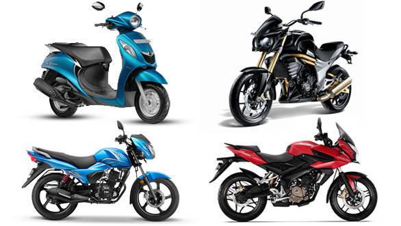 Yamaha Mahindra TVS Bajaj Composite
