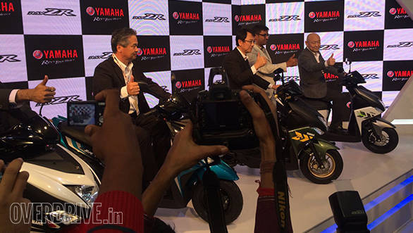 2016 Yamaha Ray-ZR launched in India at Rs 52,000