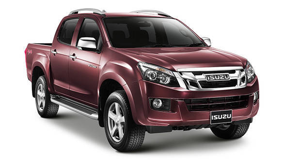 2016 auto expo 2016 isuzu d max to be showcased spied in india overdrive. Black Bedroom Furniture Sets. Home Design Ideas