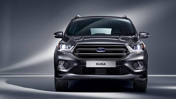 2017 Ford Kuga facelift unveiled