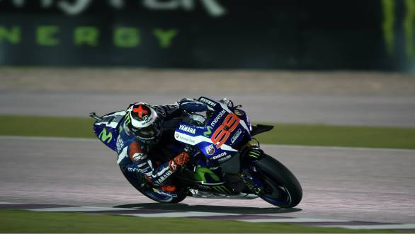 2016 MotoGP Qatar: Jorge Lorenzo kicks off his title defence with pole position
