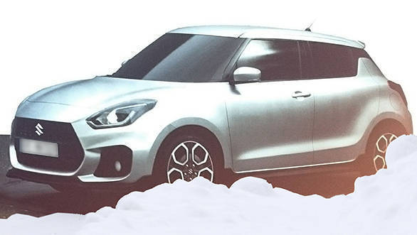 Leaked: Images of the 2017 all-new Suzuki Swift