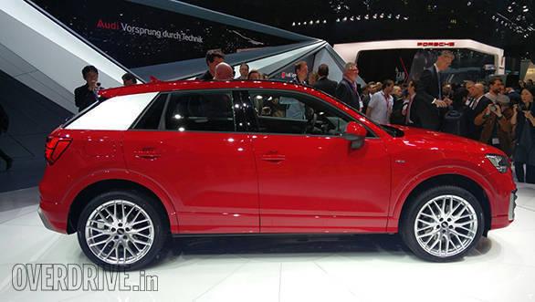 2016 Geneva Motor Show: Audi Q2 image gallery