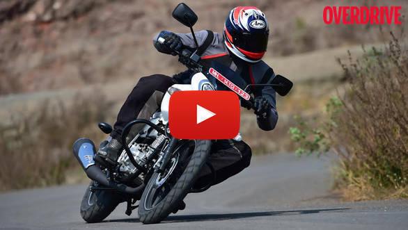 Video: Bajaj V15 first ride review