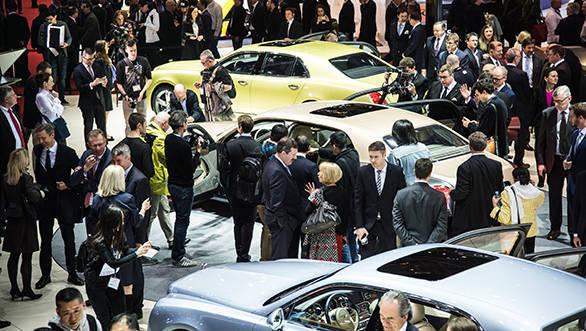 Bentley at Geneva Motor Show 2016 (1)