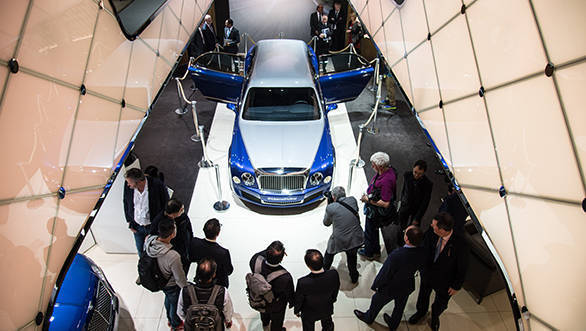 Bentley at Geneva Motor Show 2016 (2)