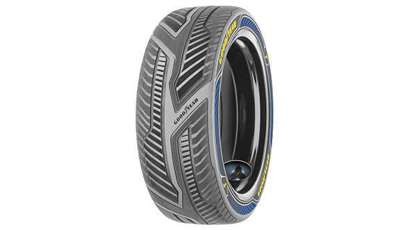 Goodyear IntelliGrip autonomous driving tyres