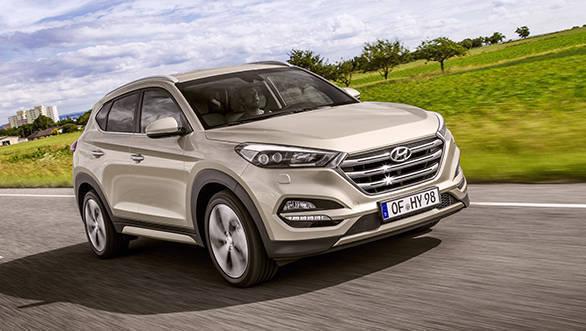 Hyundai Tucson 1.7-litre