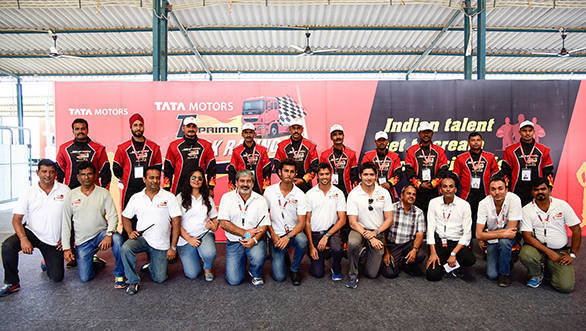 2016 T1 Prima Truck Racing Championship: Indian truck drivers set to race this season