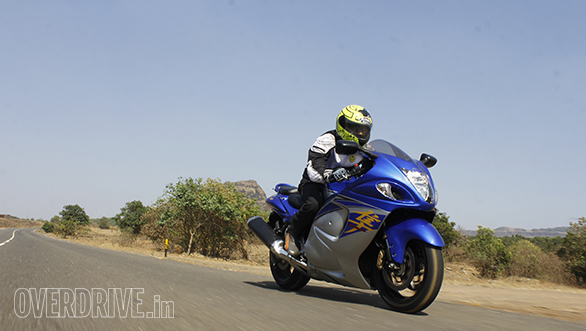 Assembled in India Suzuki Hayabusa carries minimal changes