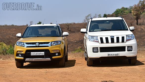 Comparo: Maruti Suzuki Vitara Brezza vs Mahindra TUV300 vs Ford EcoSport - Overdrive