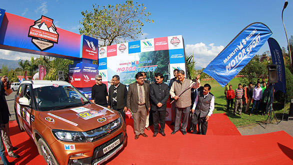 Maruti Suzuki flaggs off rally championship from Dehradun - 3