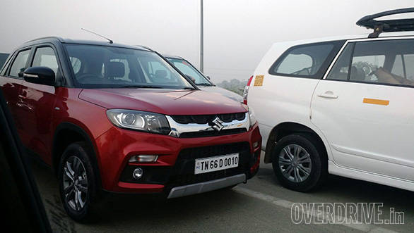 Spied: Maruti Suzuki Vitara Brezza spotted before launch on March 8 in India