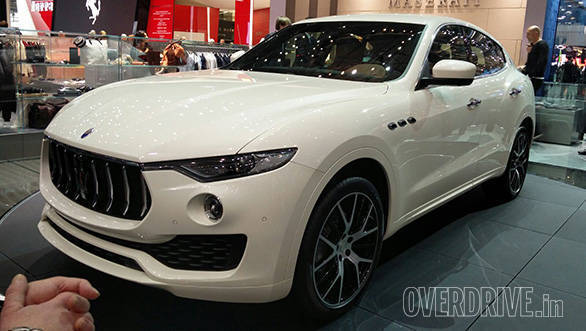 Maserati Levante diesel to be launched India in January 2017