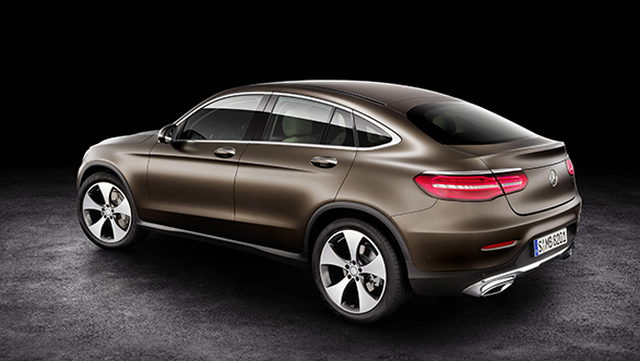 Mercedes Benz GLC Coupe front production version