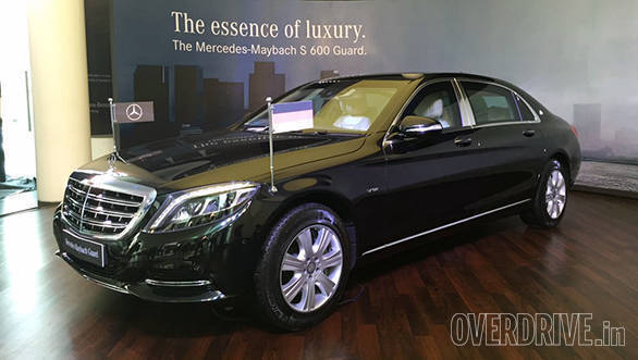 Mercedes-Maybach S 600 Guard launched in India at Rs 10.50 crore